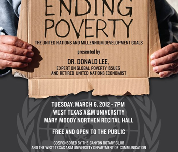 Retired U.N. economist to lecture on ending poverty