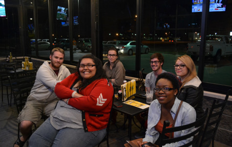 This Week in Photos: Politicial Science Society Watches Election 2012 at Buffalo Wild Wings