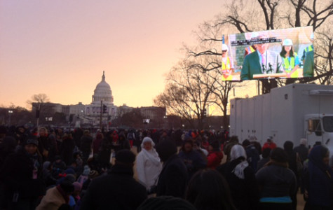 Students attend Inauguration