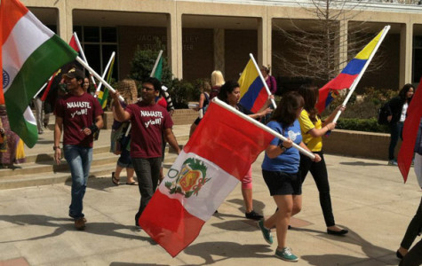 Flag parade exposes unique cultures at WT
