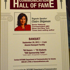 Shipman to Speak at Hall of Fame