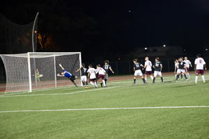 Men's soccer shuts out McMurry