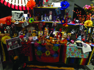 Local Dia De los Muertos celebration at PPHM
