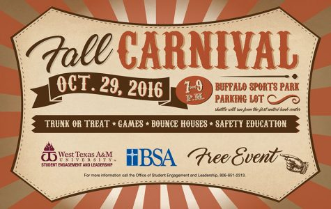 WTAMU Fall Carnival to Offer Safe Alternative to Halloween Festivities