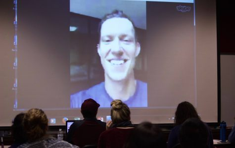 """Bestselling Author of """"Socialnomics"""" Skypes with WT Students"""