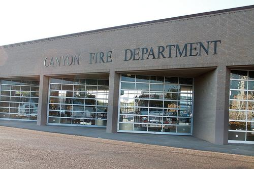 Canyon Fire Department. Photo by Frankie Sanchez.