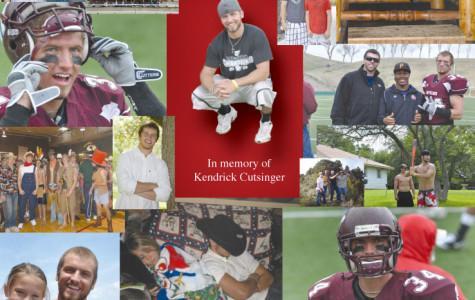 In memory of Kendrick Cutsinger…