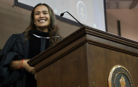 Convocation speaker wishes students strength, happiness