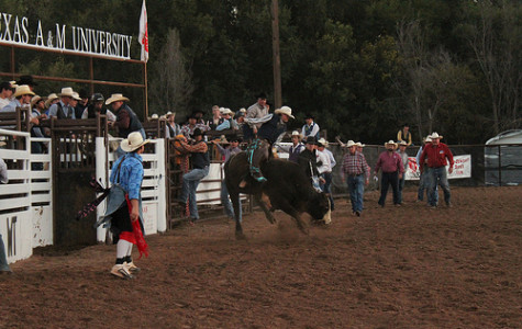 Rodeo team shows skills