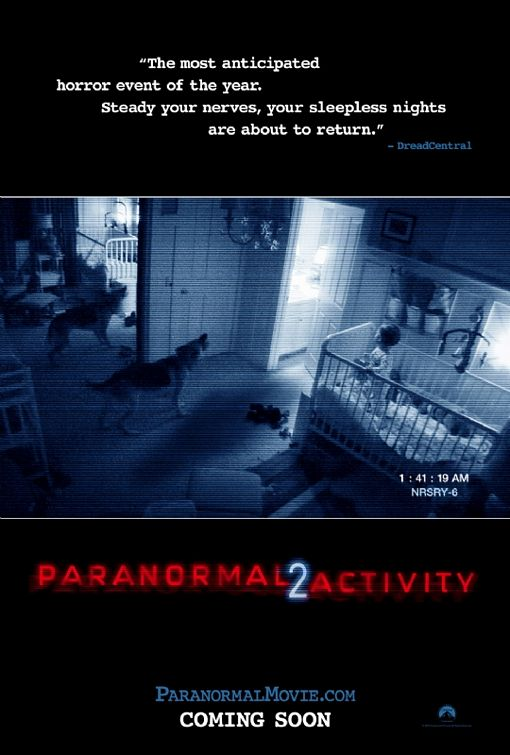Paranormal Activity 2 Official Movie Poster