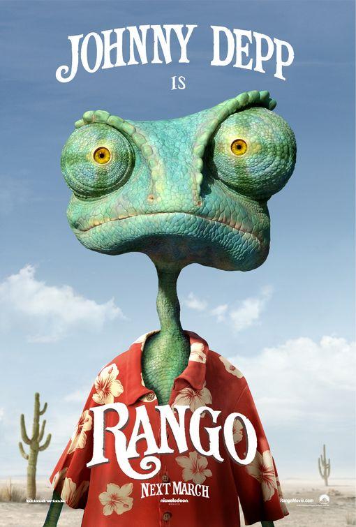 Rango movie poster. Courtesy of rangotrailer.com.