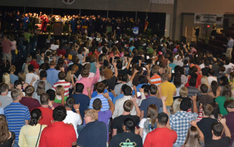 Freshman Convocation: This Week in Photos