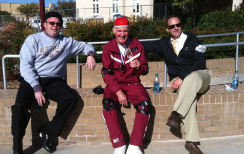 Dr. O'Brien wins Tricycle Race