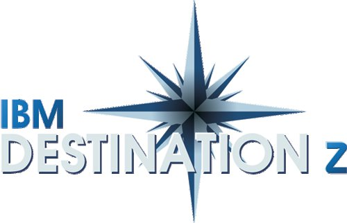 Destination z logo. Photo courtesy of IBM web site.