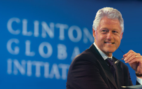 Clinton at the second Clinton Global Initiative meeting. Photo courtesy of the Clinton Foundation.