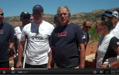 Warrior 100K Press Conference with Former President Bush