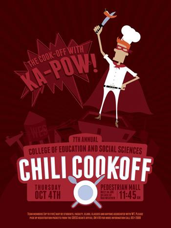 Chili Cook Off Flyer.