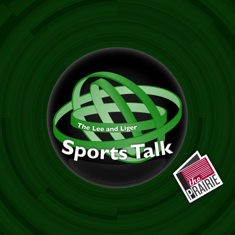 The Lee & Sports Talk Logo (Square Version). Art by Chris Brockman.