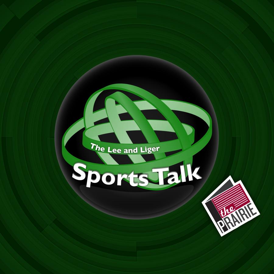 The Lee & Sports Talk Logo (Square Version). Art by Chris Brockman.