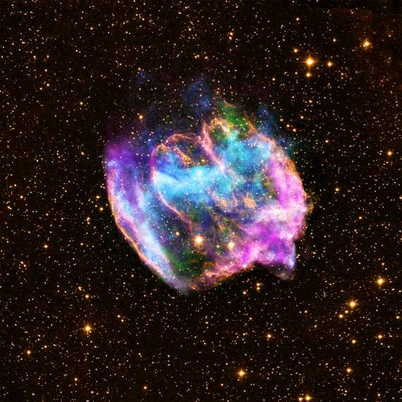 A supernova remnant that is located about 26,000 light years from Earth. Photo courtesy of  NASA.