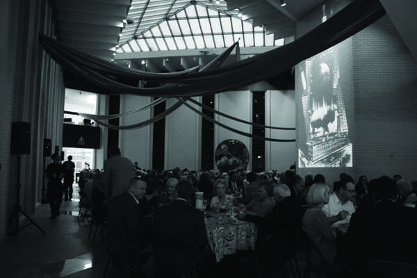 Patrons attend and celebrate the Night Blow event.