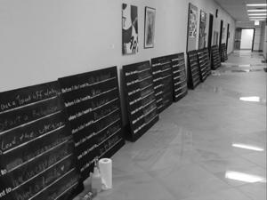 "WT Campus takes part in ""Before I Die"""