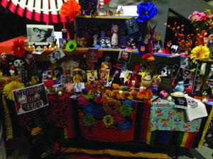 Local Dia De los Muertos celebration at PPHM