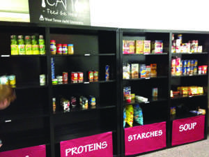 View of the pantry in the CORE office.