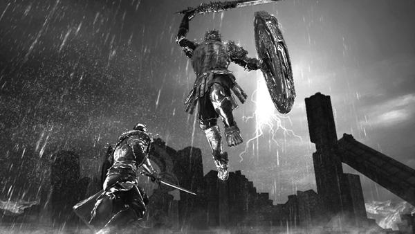 A Player battles the fierce Mirror Knight. Courtesy of Dark Souls II website.