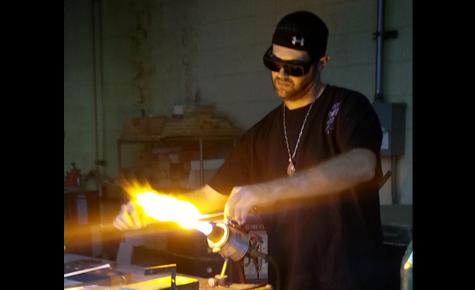 WT recognizes artists creating custom glass art