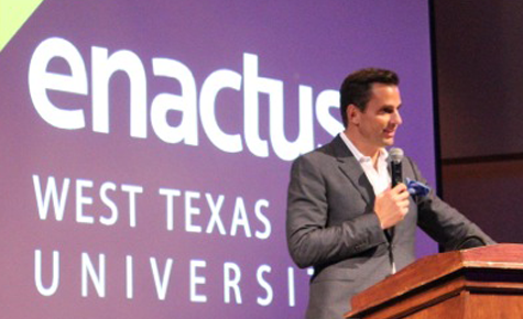 Enactus hosts Bill Rancic, teaches business skills
