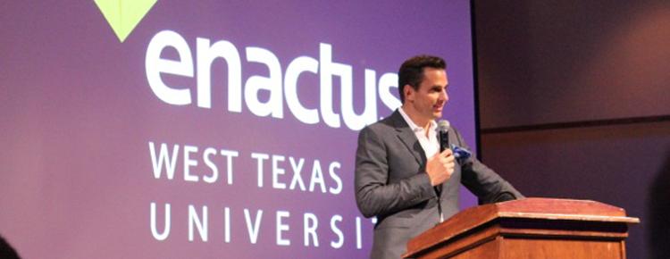 Enactus hosts Bill Rancic, teaches business skills