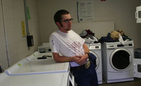 Laundry maintenance issues arise in dormitories
