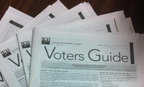 LWV promotes voter registration for WT students