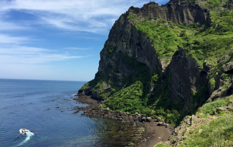 Visiting Sunrise Peak on South Korea's Jeju Island