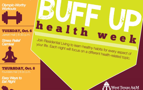 WT hosts Buff Up Health Week