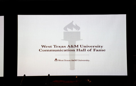 West Texas A&M University Communication Hall of Fame Banquet