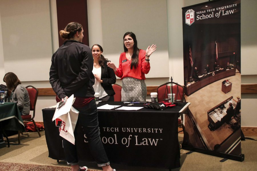 Students explore their futures at grad school fair