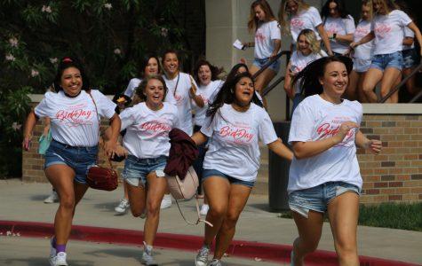 Students Join Sororities During Bid Day