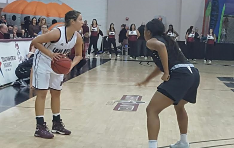 Lady Buffs Stall Against Greyhounds