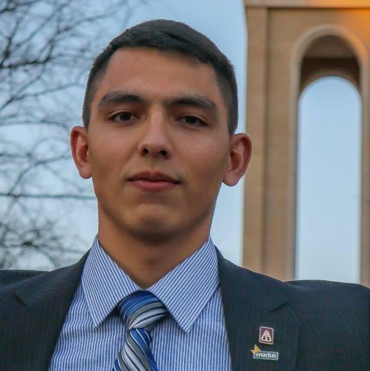 Student Body Presidential Candidate: Rigo Baeza