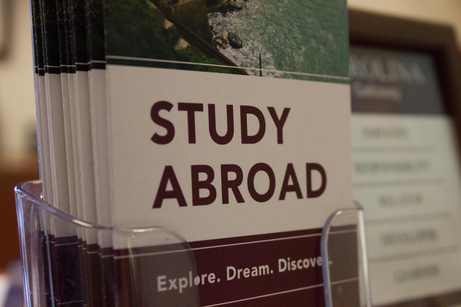 Students can get more information about study abroad through the office of study abroad located in 115A.