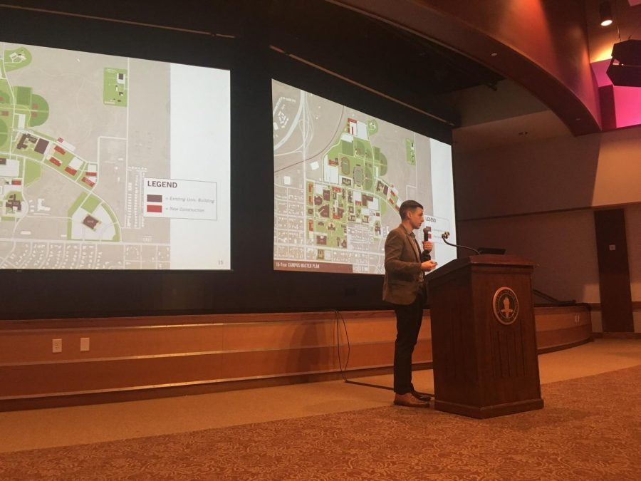 New 10-year campus masterplan presented at Town Hall meeting