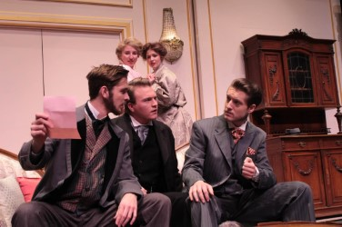 "WT students give comedic performance in ""A Flea in Her Ear"""