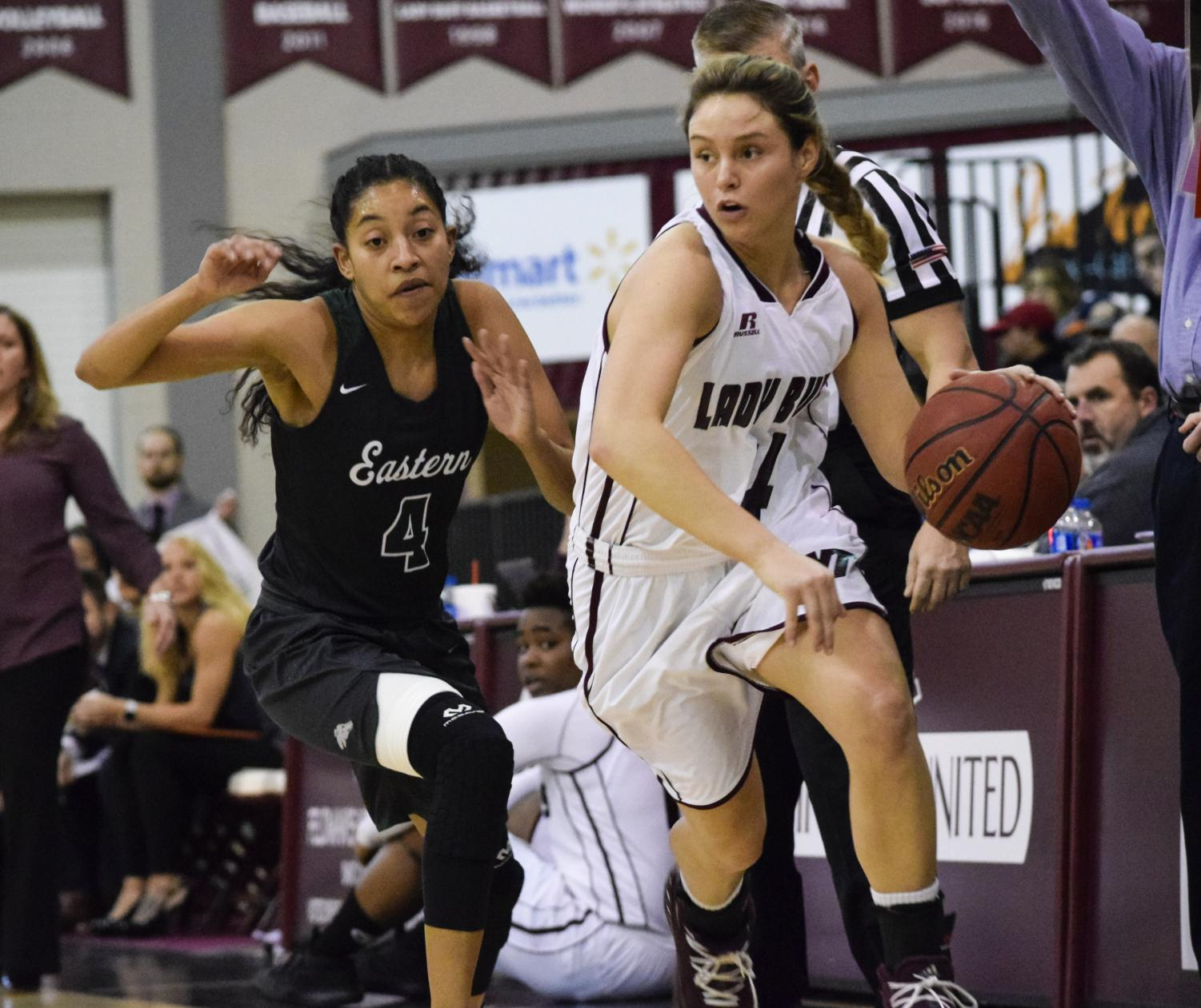Lexy Hightower has been one of the top sophomores in the country, averaging about 15 points per game for the Lady Buffs