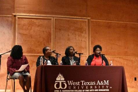 Artist Yewande Austin speaks at WT's Social Justice Conference