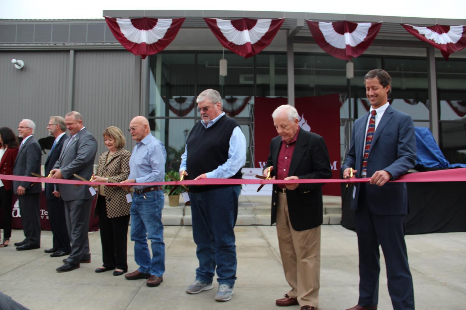 WTAMU is put on the map by the opening of the New Agricultural Sciences Complex and celebrated by the Ribbon-Cutting Ceremony and Open House.