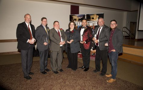 Alumni honored at COMM Hall of Fame