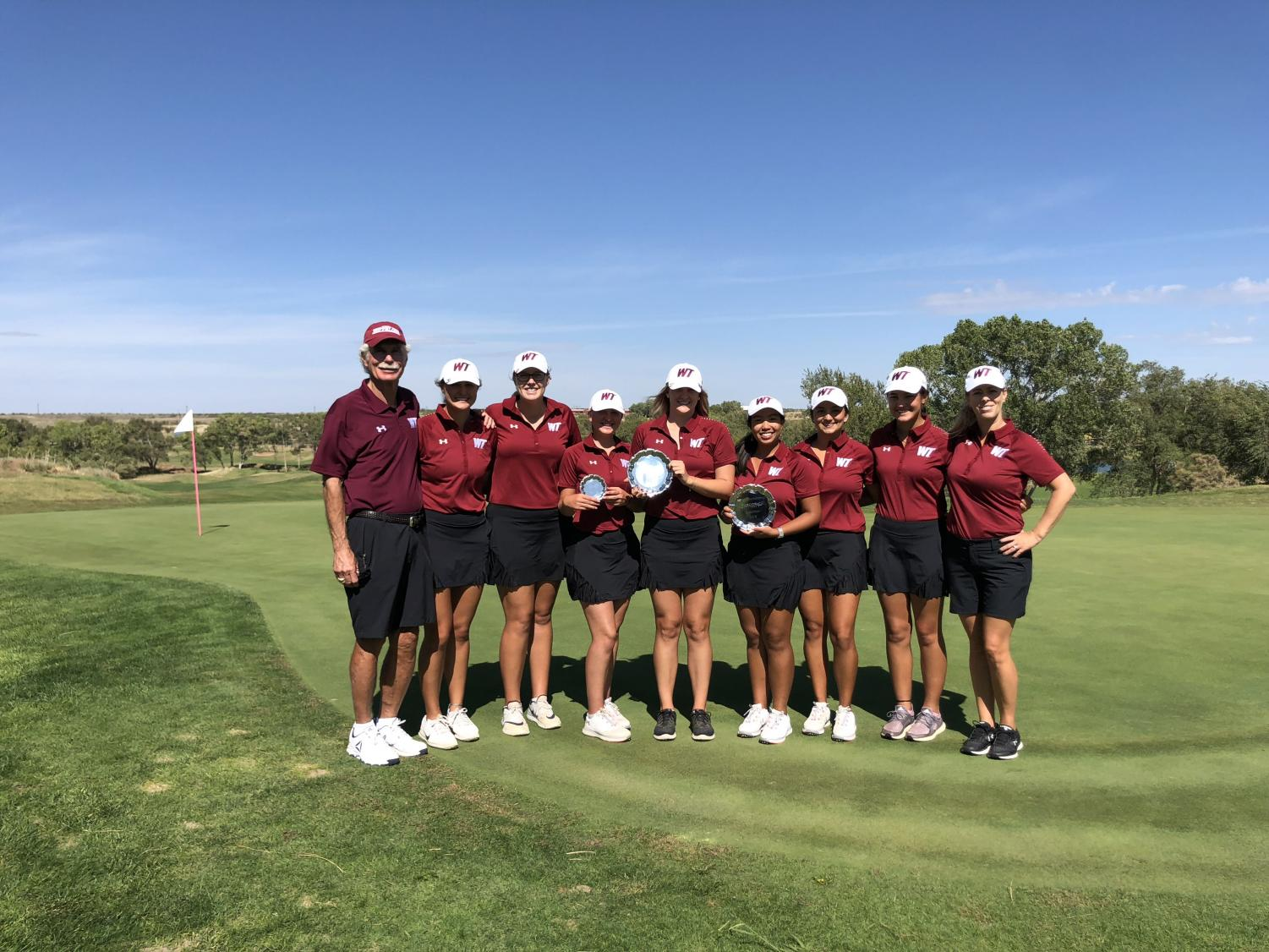 The Lady Buffs placed first in the WTAMU Lady Buff Invitational in Amarillo, Texas.