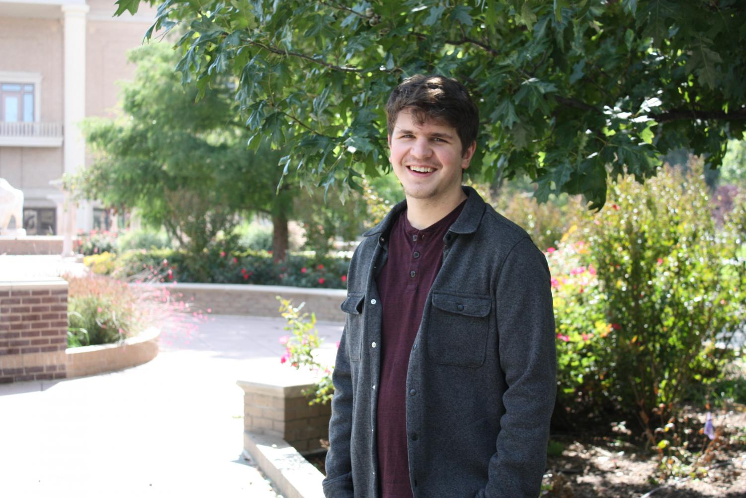 Junior English major Aaron Akins will have his essay published in the Spring 2019 edition of the Sigma Tau Delta Review.